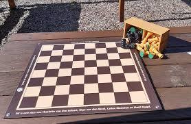 Dam- en schaakborden